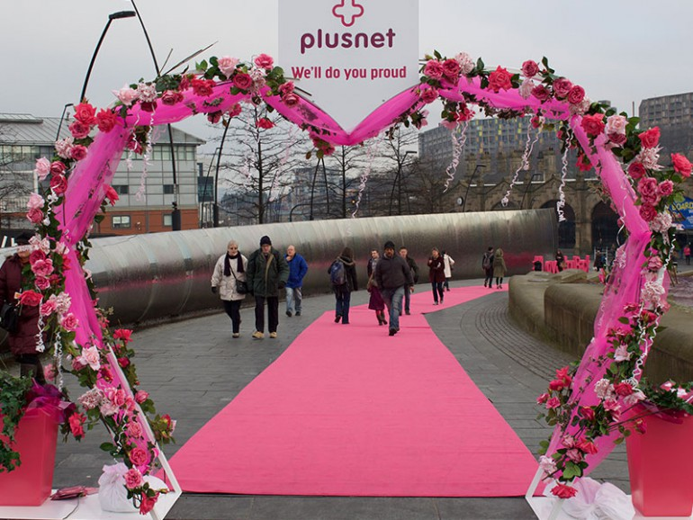 Carpet for Plusnet Event