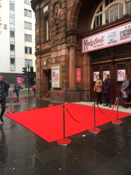 Red Carpet Theatre Entrance Kinky Boots