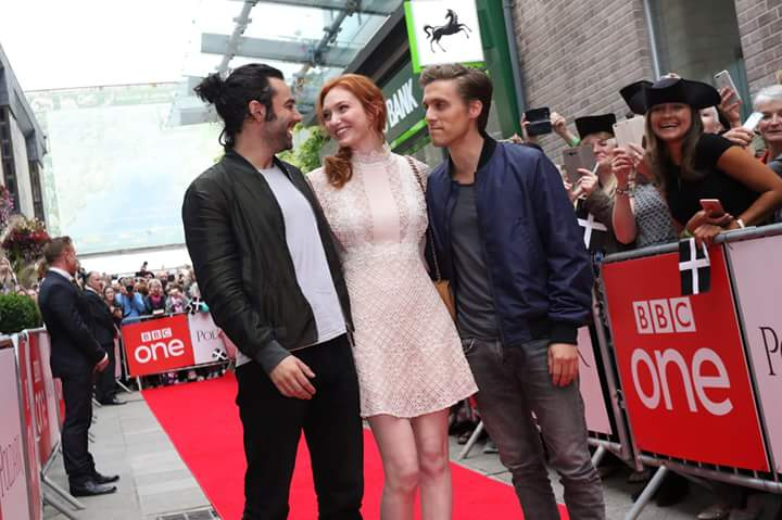 BBC television Poldark premiere using our red carpet